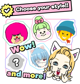 Choose your style!!